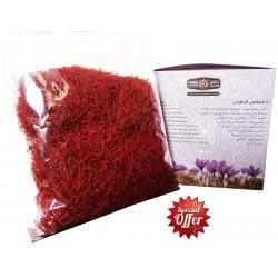 صدگرم زعفران نگین فندخت در بسته بندی مطابق شکل